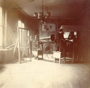 The first Gramophone Company recording studio in Maiden Lane
