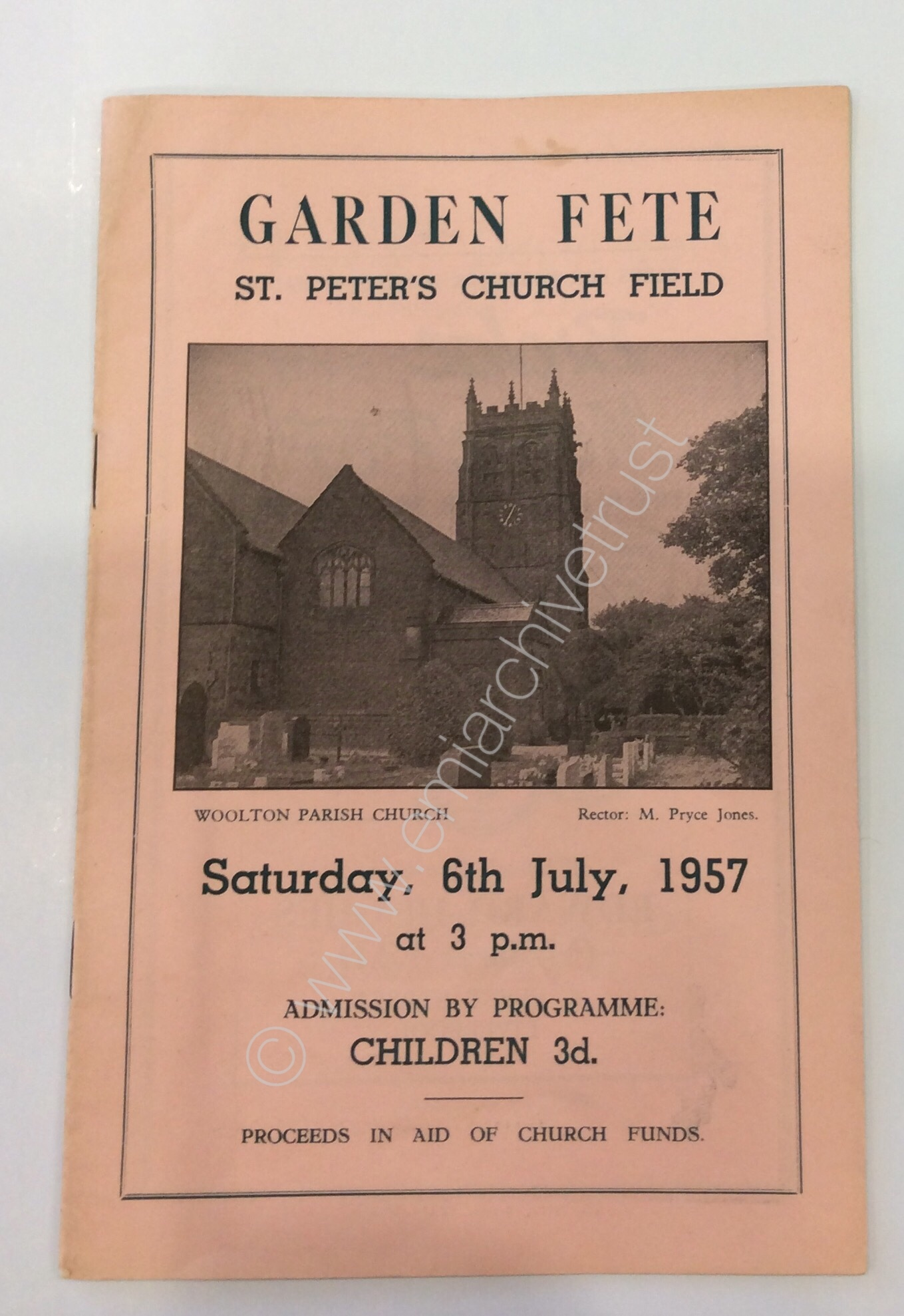 Garden Fete St. Peter's Church Field 6th July 1957 - Courtesy of EMI Group Archive Trust